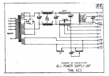 MARCONI AC1 Vintage Service Information by download #91863