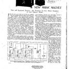 OSRAM 1931 New Music Magnet Service Info by download #91916
