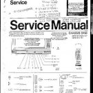 PHILIPS 52KE1551 Service Manual  by download #91954
