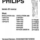 PHILIPS EVOLUTION AA Service Manual  by download #91959