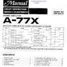 PIONEER A77X Service Manual by download #91972