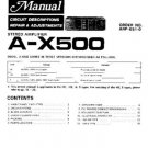 PIONEER AX500 Service Manual by download #91986