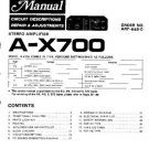 PIONEER AX700 Service Manual by download #91987
