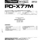 PIONEER PDX77M Service Manual by download #91994