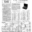 PYE P31MBQ Vintage Service Information  by download #92053
