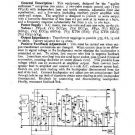 PYE PF91 Vintage Service Information  by download #92090