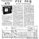 PYE PP_B Vintage Service Information  by download #92097