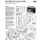 PYE PT302 Vintage Service Information  by download #92100