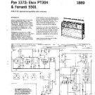 PYE PT304 Vintage Service Information  by download #92101