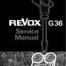 Revox G36 Tape Recorder Service Manual  by download #92122
