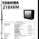 TOSHIBA 218X6M Service Information by download #92265