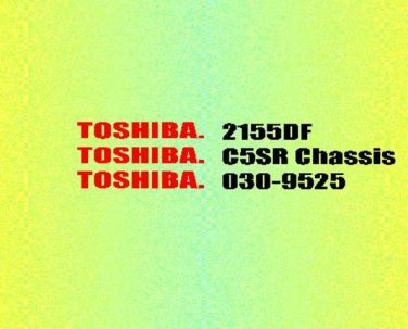 TOSHIBA C5SR Chassis Service Information by download #92275