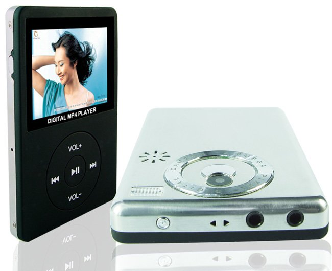 MP4 Player with Camera - 2.4 inch Screen- 4 GB & SD Slot