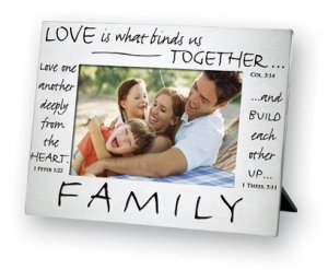 Pewter Polished Picture Frame : Friends