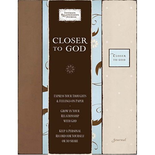 Closer To God Gift Journal