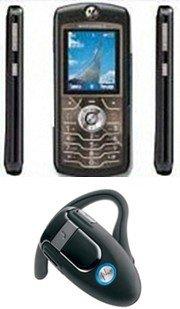 Motorola L6 Unlocked GSM Cell Phone (Unlocked) Combo