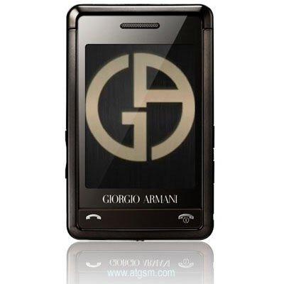Samsung SGH-P520 Giorgio Armani Triband GSM Unlocked Phone