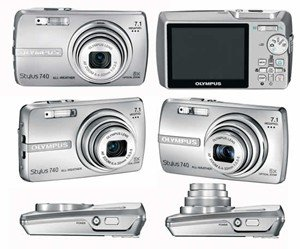Olympus Stylus-740 7.1-Megapixel Digital Camera - Silver