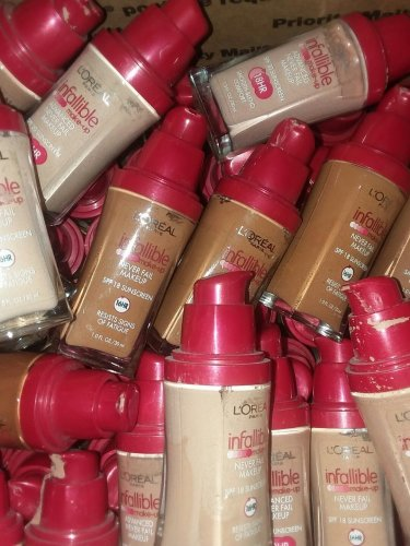 75 pcs lot L'Oreal Infallible Advanced Never Fail Foundation
