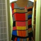 Vintage Dropwaist Dress SZ L