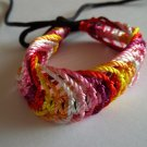 Woven Multi Color Wish Thread Bracelet