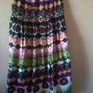 Tie-Dyed Maxi Skirt Size L