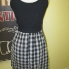 Rockabilly plaid bombshell dress Size  M