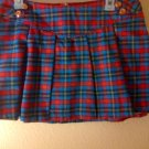 Plaid School Girl Skirt SZ 7