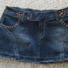 Embellished  Denim mini - Junior Size 11
