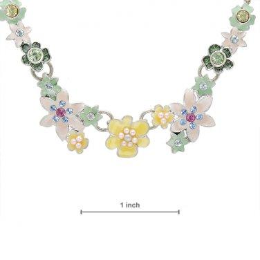 Pilgrim Skanderborg, Denmark Crystal & Pearl Necklace