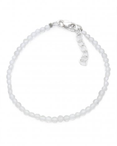 Genuine Crystal Bracelet Crafted in Sterling Silver