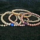 Healing Crystals & Pearl Bracelets