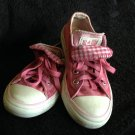 Girls' Pink Double Tongue All Star Converse Size 13
