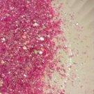 Fun Glitter Mix - Pink Nail Glitter