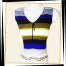 Vintage striped sweater tank