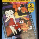 Betty Boop Vol. 1 DVD - 5 Full Length Episodes (PLUS 3) - Cartoon Classics
