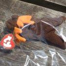 1993 McDonalds Ty Teenie Beanie Baby Chocolate the Moose