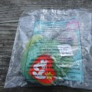 2000 Mcdonalds Ty Teenie Beanie Baby Coral the Fish New in Package