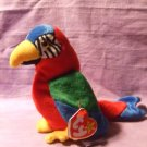Original Beanie Babies Jabber the Macaw Parrot TY