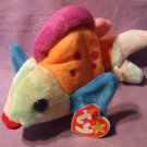 Ty Original Beanie Babies Retired Lips the Fish March 15 1999