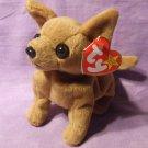 TY Beanie Baby Tiny the Chihuahua Dog