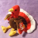 TY Beanie Baby Gobbles the Thanksgiving Turkey