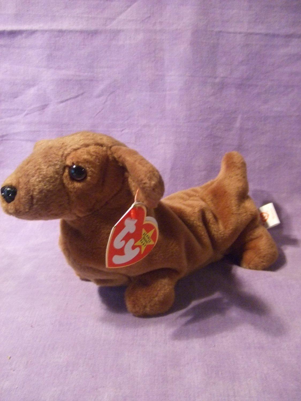 1475dd594a0 TY Beanie Baby Weenie the Dachshund Dog
