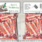 Personalized DIRT BIKES QUADS FMX Birthday Party Favors Goodie Bags & Toppers