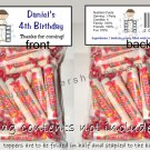 Personalized KARATE MARTIAL ARTS Birthday Party Favors Goodie Bags & Toppers
