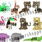 30 Personalized JUNGLE SAFARI Return Address Labels ZEBRA Baby Shower Birthday