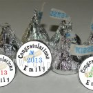 108 Personalized GRADUATION TASSEL 2013 Kiss Labels Party Favors Candy Wrappers