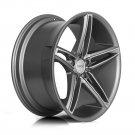 """20"""" XIX Wheels X33 20x8.5 20x10 Fits Infiniti Nissan 5x114.3 Machine Titanum Face"""
