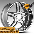 "19"" EUROMAG EM2 WHEELS 19X8.5 19X9.5 STAGGERED FITS MERCEDES BENZ W204 W215 W216 W212 W220 W221"