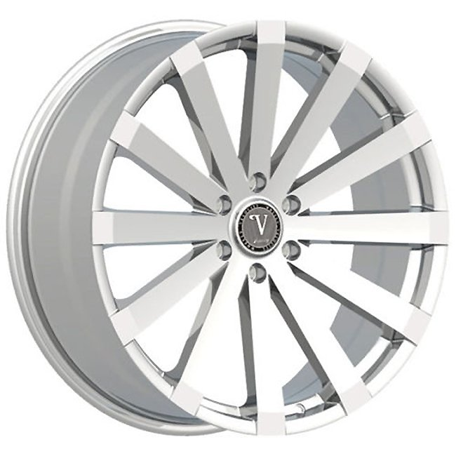 "24"" Velocity VW12 Chrome Wheels  Rim 24x9 Chrome 6x139.7"